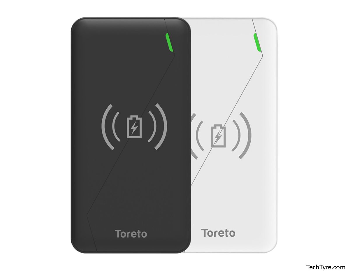 Toreto Zest Pro Wireless Charger Power Bank