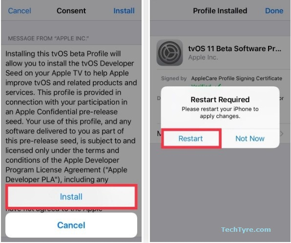 How to Disable Software Update Notification for iPhone Device with